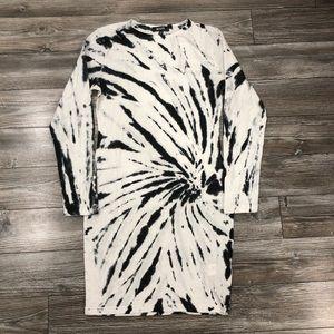 Missguided Tie-Dye T-shirt Dress